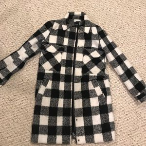Forever 21 plaid heavy jacket